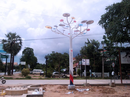 Tree Solar Streetlights
