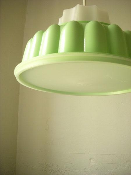 Tupperware Pendant Lamp