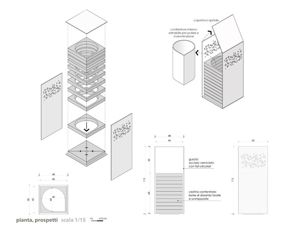 Urban Furniture Design Bin, Bike Racks