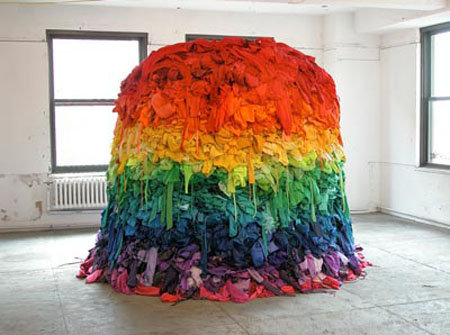 Used Clothes Sculpture