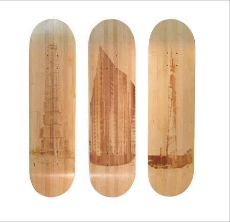 Utopian Bamboo Skateboard