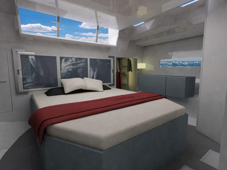 V50 Hybrid Yacht