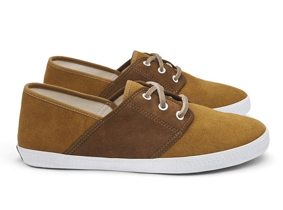 Mediterranee Suede Capsule Collection from Veja