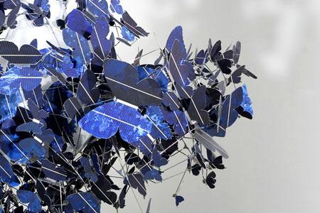 Virture Blue Chandelier