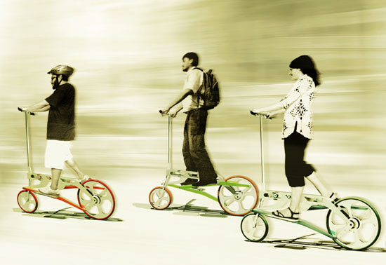 Walkabike by Jude D'Souza - Bike for Urban Commuter