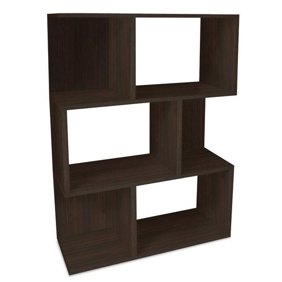 Way Basics Eco 3-Shelf Madison Bookcase and Storage