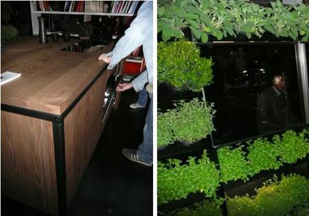 Whirlpool Green Kitchen