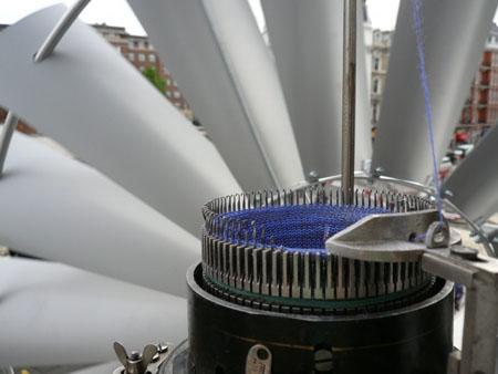 Wind Knitting Machine
