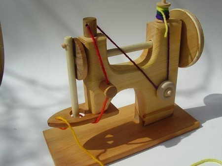 Wood Toy Sewing Machine
