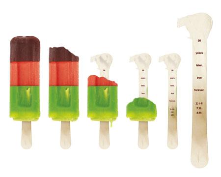 WWF China Popsicle Stick