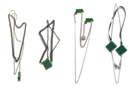 Y-Town E-waste Recycled Jewelry
