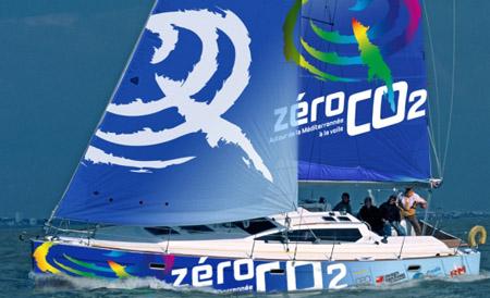Zero CO2 Yacht